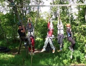 familie aktiviteiten survival